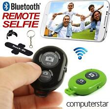 Télécommande Selfie Pour Appareil Photo iPhone iPad Android+Pied Porte-clés Vert