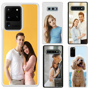 Personalised Single Photo Phone Case Cover for Samsung S20/S20 Plus/S20 Ultra