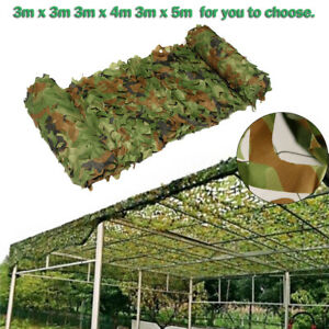 Hunting Camping Woodlands Blinds Military Camo Mimetica Rete Netting Mesh