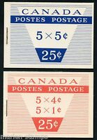 CANADA COMPLETE UNEXPLODED BOOKLET STANLEY GIBBONS #SB57/58   MINT NH STAMPS