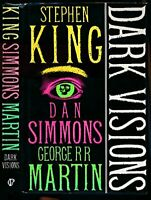 Dark Visions by George R.R. Martin Hardback Book The Fast Free Shipping