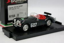 Brumm 1/43 - Jaguar  XK120 Rallye des Alpes 1948 R164