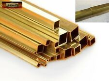 M01311 MOREZMORE 2 Telescopic Brass Square Tubes #9850 #9851 2mm + 3mm K&S T20