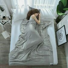 Cooling Full Size Weighted Blanket 15lbs 48''x72'&# 039; for Adults Anxiety Relief