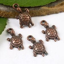 20pcs copper-tone turtle charms h2158