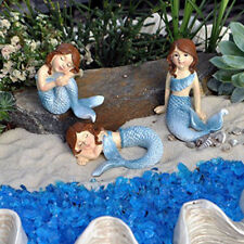 Ganz E9 Fairy Garden Decor Fantasy Mermaid 3pc Set Figurines Er36459