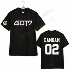 KPOP GOT7 T-shirt Tee Tops Tshirt Bambam Mark Jackson FLY Unisex JR JB YOUNGJAE