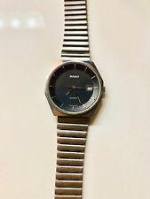 EUC Vintage Rado Men's Watch Swiss Made 7 Jewels 113.3283.4 New Battery