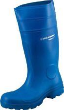 Stivali di gomma da uomo blu di gomma