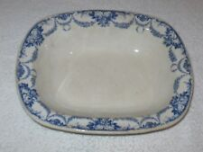 "Antique/Vintage China Wedgwood Serving Dish - Grosvenor -  10"" x 8""  (LW) - #2"