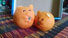 Rare HTF 2005 Home Grown Enesco Orange Cats Figurine 4004839