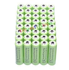 40x AA 3000mAh 1.2V Ni-MH 2A del color verde de la batería recargable para MP3