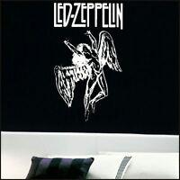LARGE LED ZEPPLIN ANGEL BEDROOM WALL MURAL ART STICKER GRAPHIC DECAL MATT VINYL
