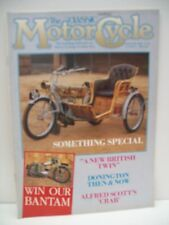Classic Motor Cycle Magazine, 12 issues 1989 complete