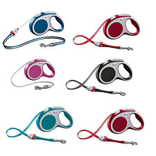 Flexi Vario Soft Grip Retractable Leads/ Extending Leads, Cord or Tape 3,5 & 8m