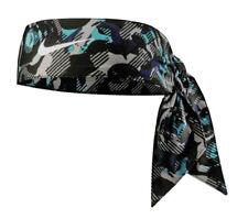 New Womens Nike Swoosh DRI-Fit Printed Head Tie 2.0 Headband Tennis Running