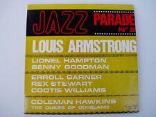 """LOUIS ARMSTRONG """"JAZZ PARADE No 2"""" - Oz pressing 7"""" 33rpm EP"""