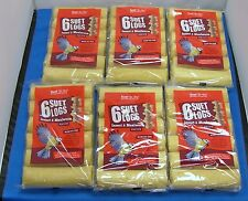 36 X WILD BIRD FOOD SUET TO GO LOGS INSECT AND MEALWORM TREATS HIGH ENERGY