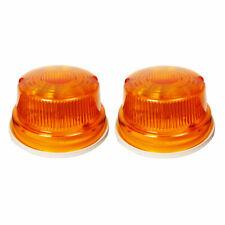 LED COMPACT TRACTOR LIGHT SET FOR KUBOTA ISEKI YANMAR L1500 L2000 AMBER
