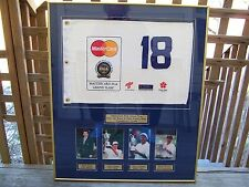 1996 MasterCard PGA Grand Slam of Golf Pin Flag Faldo Jones Lehman Brooks Photos