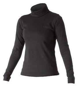 Catmandoo Roll Neck / Cotton Golf Base Layer Skin Black / Fuchsia 8,10,12,14,16
