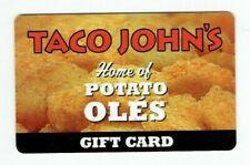 Taco John's Gift Card Restaurant - Potato Oles - Food - 2011 - No Value