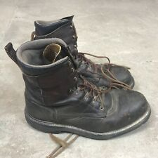 """Red Wing 2264 Brown Leather Steel Toe 8"""" Boots Men's 10 2E Made in USA"""
