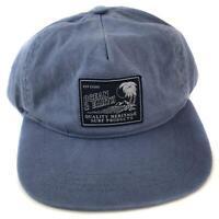 Ocean & Earth Adult Layback Snapback Cap In Blue/Grey