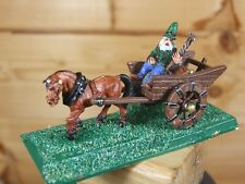 CLASSIC METAL EARLY WIZARD AND CART PAINTED (602)