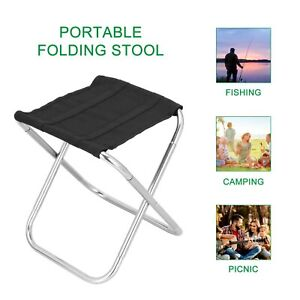 Aluminum Folding beach Portable Chairs Stool Seat Outdoor Camping Fishing Travel