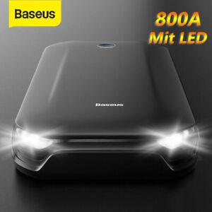 Baseus 8000mAh Auto Starthilfe Jump Starter KFZ Power Bank Ladegerät Booster 12V