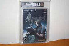 Resident Evil 4: Premium Edition (Playstation 2 PS2) NEW SEALED MINT GOLD VGA 90