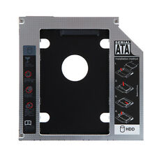 9.5mm 2nd HDD Hard Drive Caddy SATA for Apple Macbook Pro Optical bay Universal
