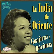 LA INDIA DE ORIENTE CD Vintage Perlas Cubanas #240 / Guajiras y Decimas , Clara