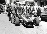 JOCHEN RINDT COOPER MASERATI VERY RARE 2 PHOTOGRAPH FOTO MONACO GRAND PRIX 1967