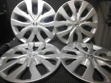 "OEM Nissan Rouge Hubcaps Wheel Covers 2014 to 2018 17"" Factory Set#53076 #1"