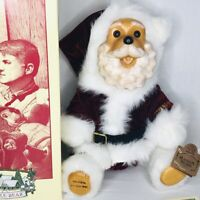 1994 Robert Raikes Kringle Bear Limited Edition Box Tag COA Christmas