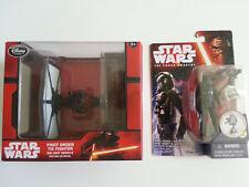 "Star Wars 1st Order TIE Fighter Die Cast + Hasbro 3.75"" Tie Fighter figure (NEW)"
