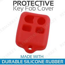 Remote Key Cover Case Shell for 1998 1999 2000 2001 2002 2003 Ford Escort Red