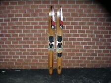 "Vintage Cypress Gardens Dick Pope Jr. Wooden Water Skis 67"" Length"