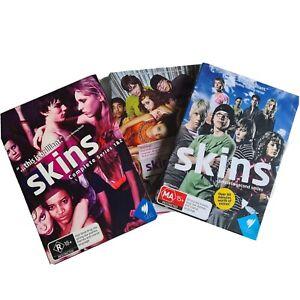 Skins Complete First / Second Series DVD Box Set (1-2) Region 4 Season