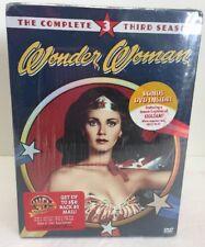 Wonder Woman Seasons 1, 2, And 3 DVD Set Sealed Unopened. O