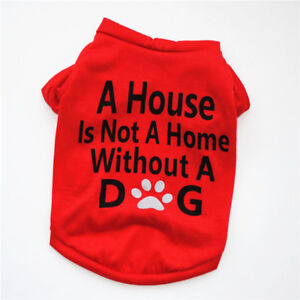 Dog Clothes Extra Small to Medium Pet Puppy T Shirt Spring Summer for Yorkshire