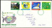 GB FDC 1992 The Green Issue, Stevenage FDI  #C39425