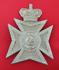 British Army. 14th Light Dragoons Rare Genuine OR's Shako Plate