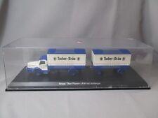AH522 SCHUCO 03036 KRUPP-Titan LKW mit Anhänger Tucher-Bräu in box 1/43