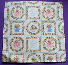"VINTAGE HALLMARK WEDDING GIFT WRAP PAPER 1 SHEET 20"" X 30"" VERY NICE"