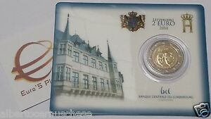 Coin card 2 euro 2014 Lussemburgo Luxembourg Luxemburg 50 gran duc JEAN GIOVANNI
