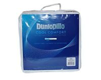 Dunlopillo Coolmax Comfort Fitted Mattress Protector All Sizes
