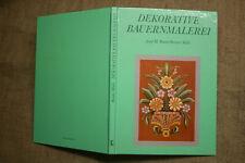 Fachbuch Bauernmalerei, Möbelmalerei, Bauernmöbel, Bauernstuben, Holzmalerei DDR